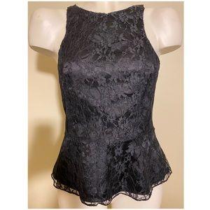 Express lace sleeveless shirt
